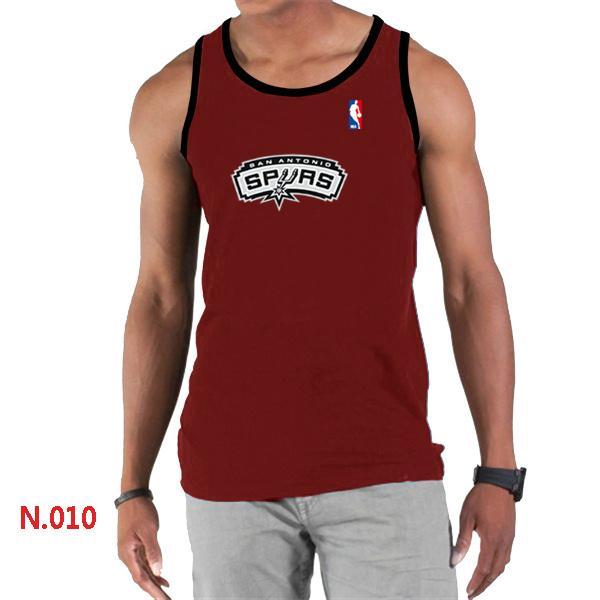 San Antonio Spurs Big & Tall Primary Logo Men Red Tank Top