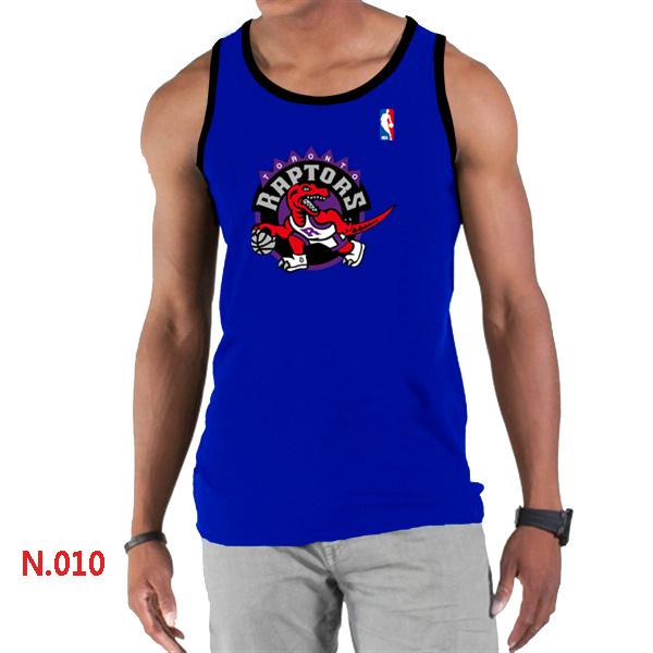Toronto Raptors Big & Tall Primary Logo Men Blue Tank Top