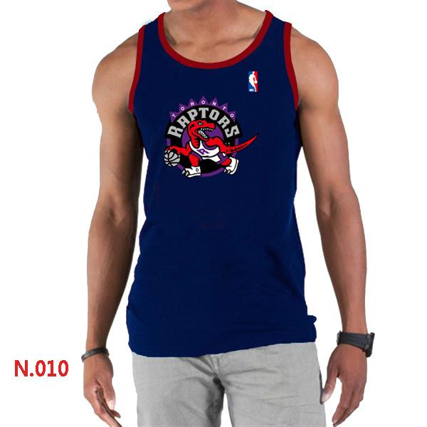 Toronto Raptors Big & Tall Primary Logo Men D.Blue Tank Top