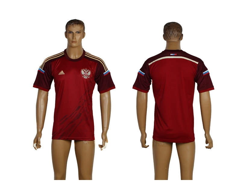 Russia 2014 World Cup Home Thailand Jersey