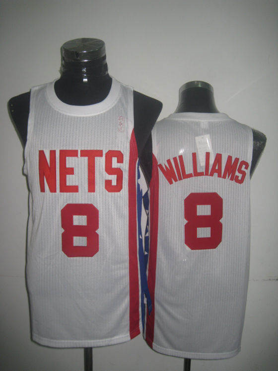 Nets 8 Williams White New Revolution 30 Jerseys