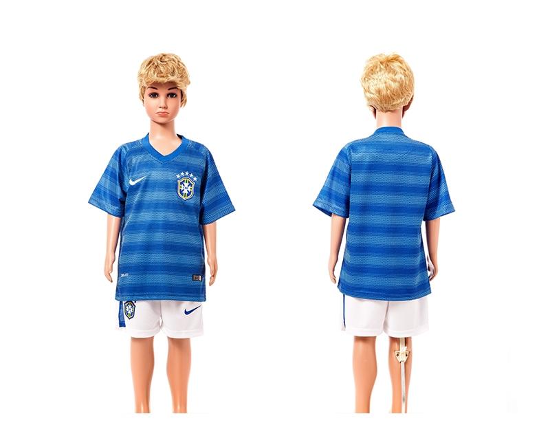 Brazil 2014 World Cup Away Youth Jerseys
