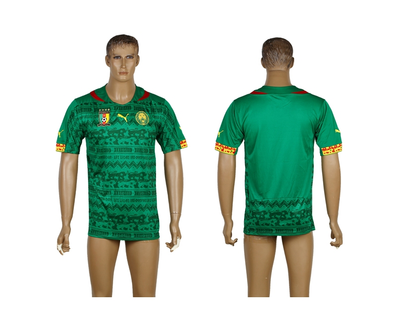 Cameroon 2014 World Cup Home Thailand Jerseys