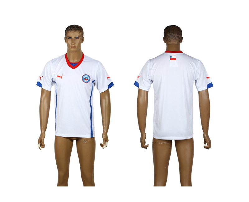 Chile 2014 World Cup Away Thailand Jerseys