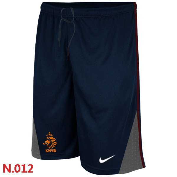 Nike Netherlands 2014 World Cup Soccer Performance Shorts D.Blue
