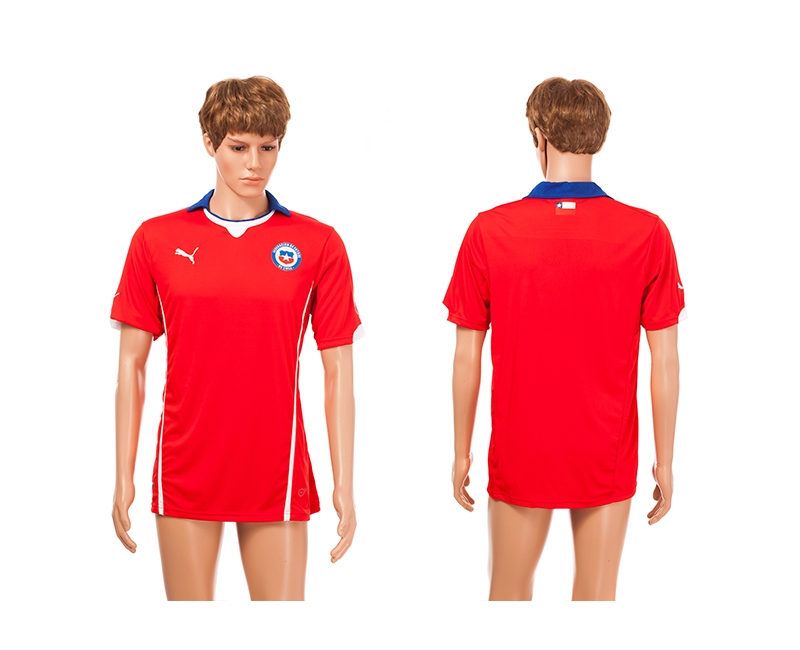 Chile 2014 World Cup Home Thailand Jerseys