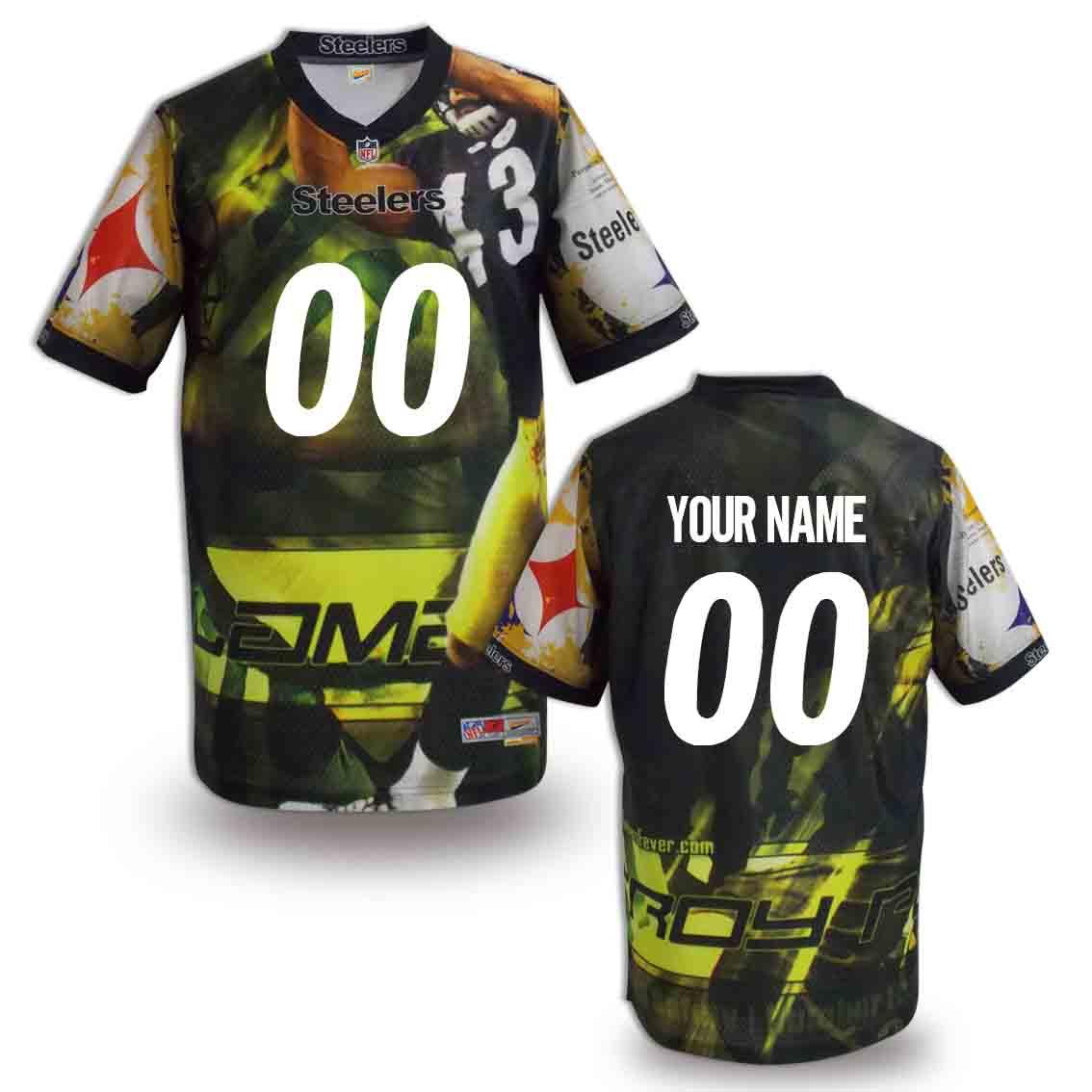 Nike Steelers Customized Fashion Stitched Jerseys01
