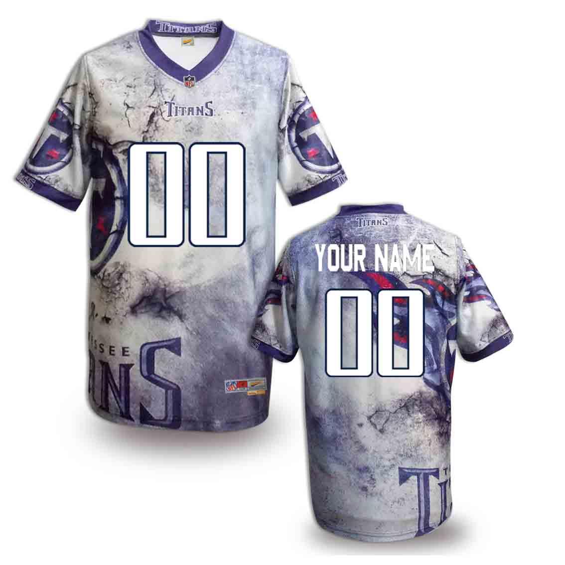 Nike Titans Customized Fashion Stitched Jerseys05