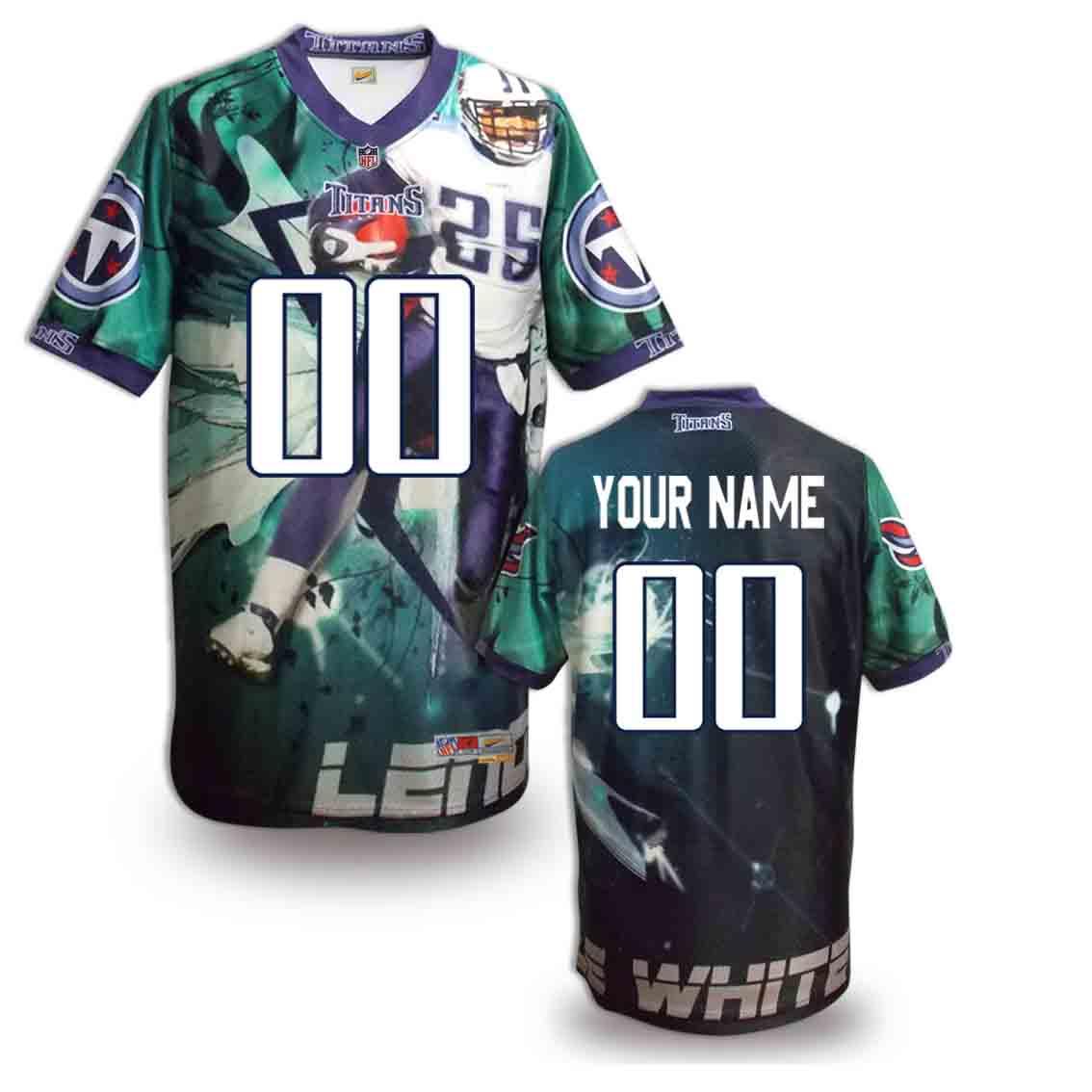 Nike Titans Customized Fashion Stitched Jerseys06