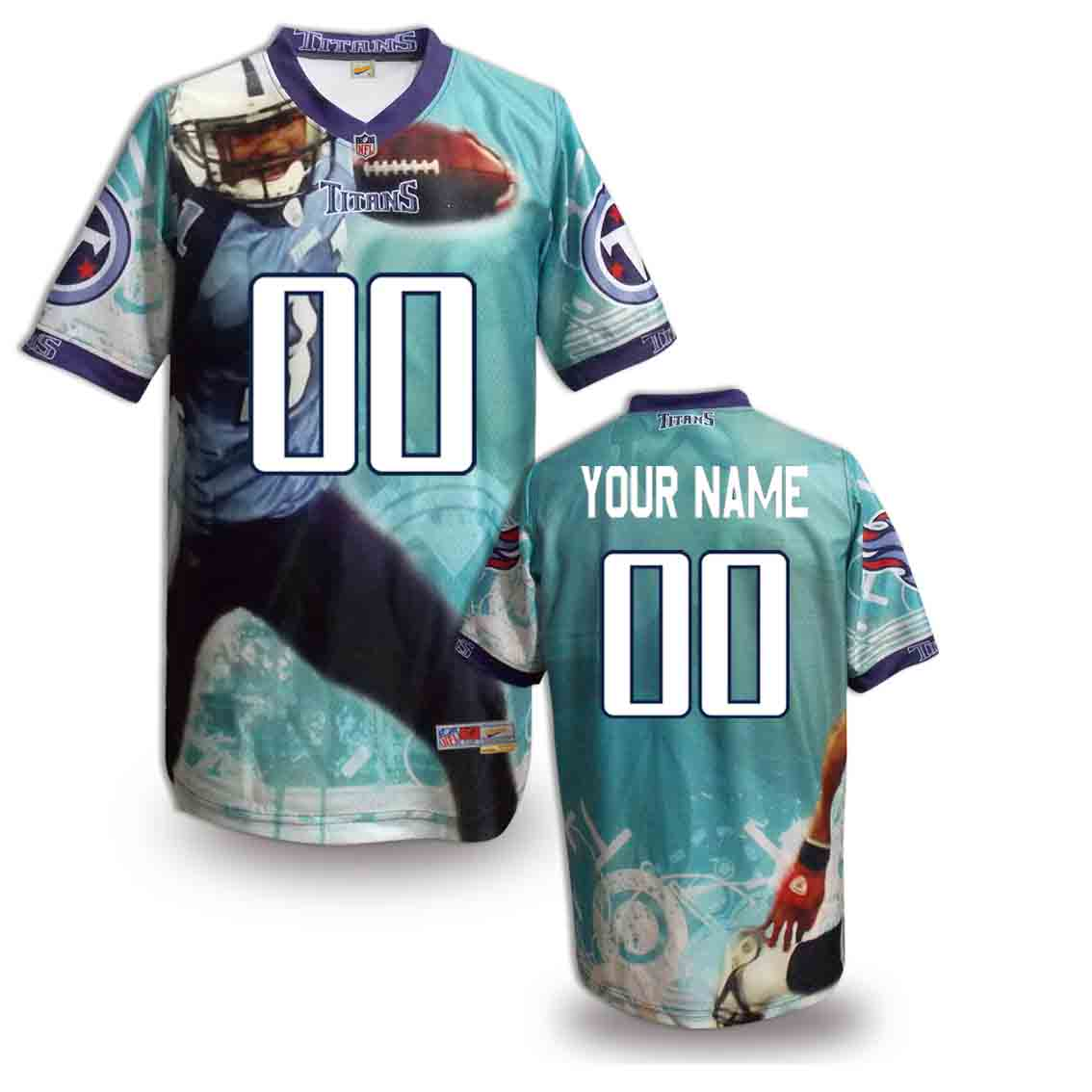 Nike Titans Customized Fashion Stitched Jerseys07