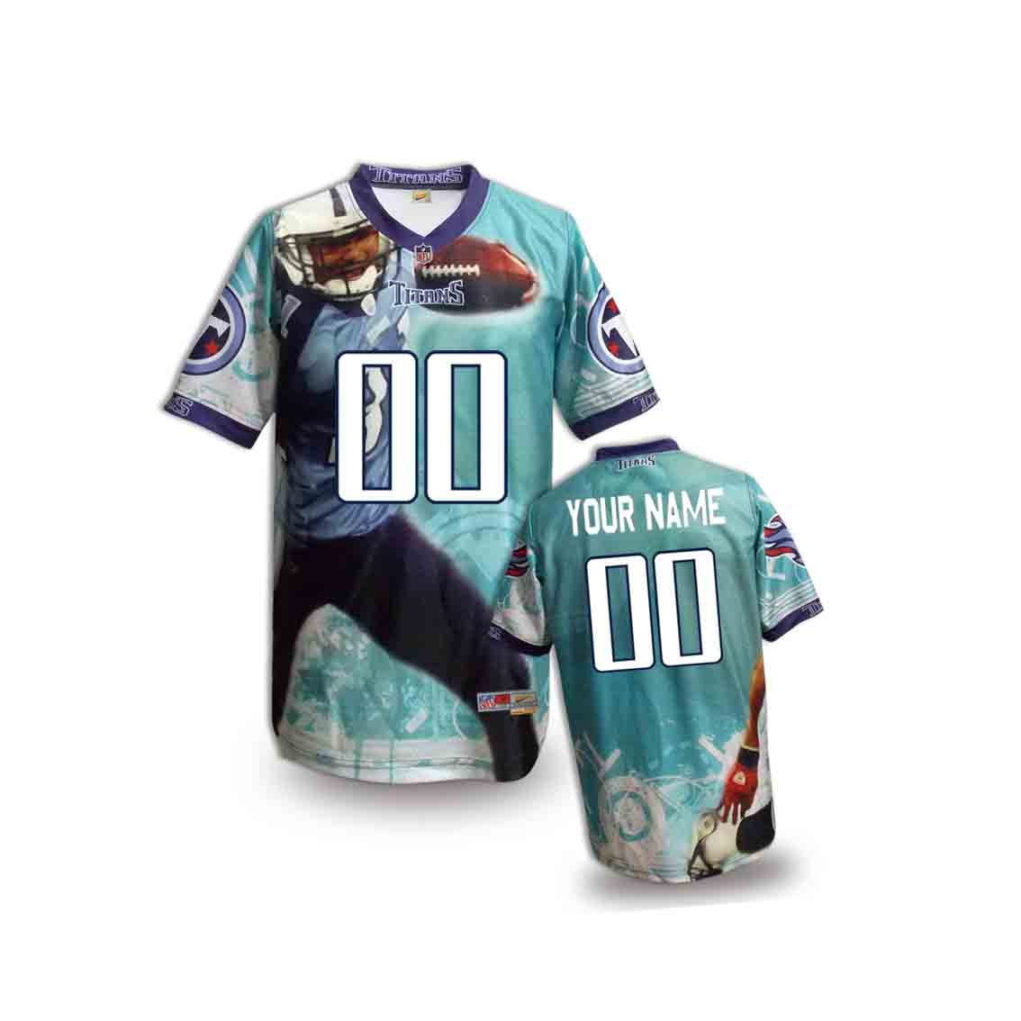 Nike Titans Customized Fashion Stitched Youth Jerseys01