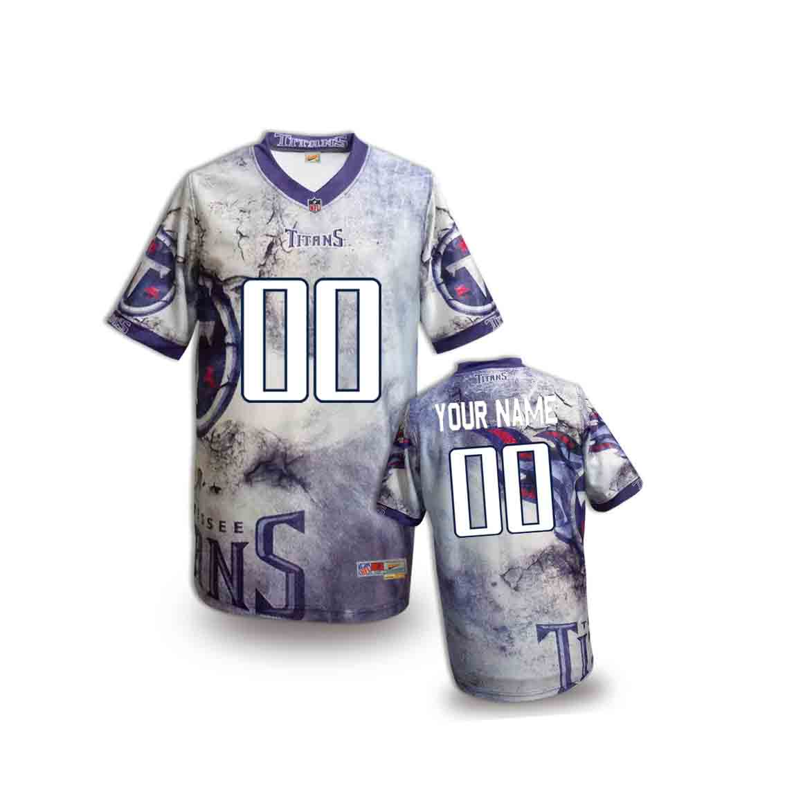 Nike Titans Customized Fashion Stitched Youth Jerseys03