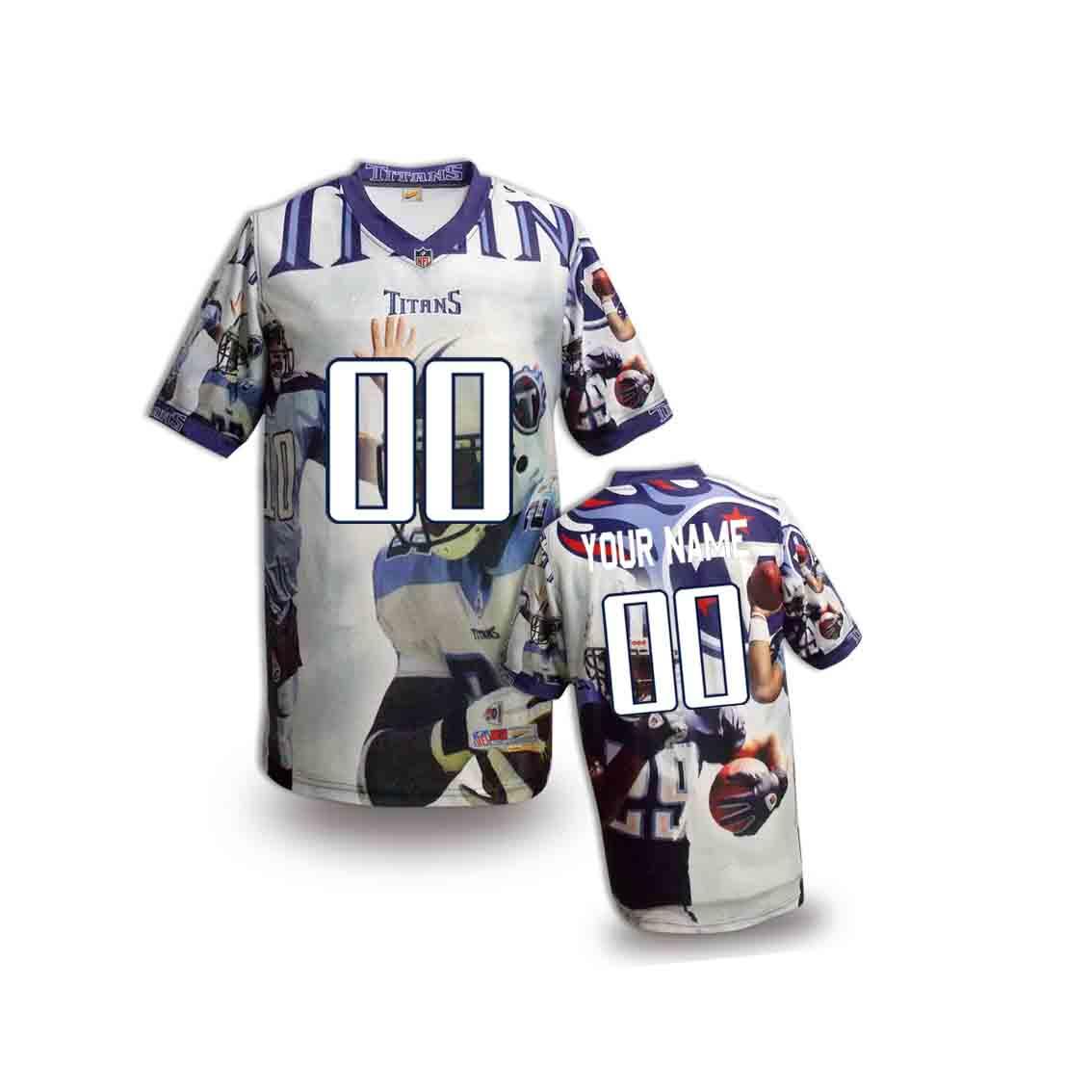 Nike Titans Customized Fashion Stitched Youth Jerseys04