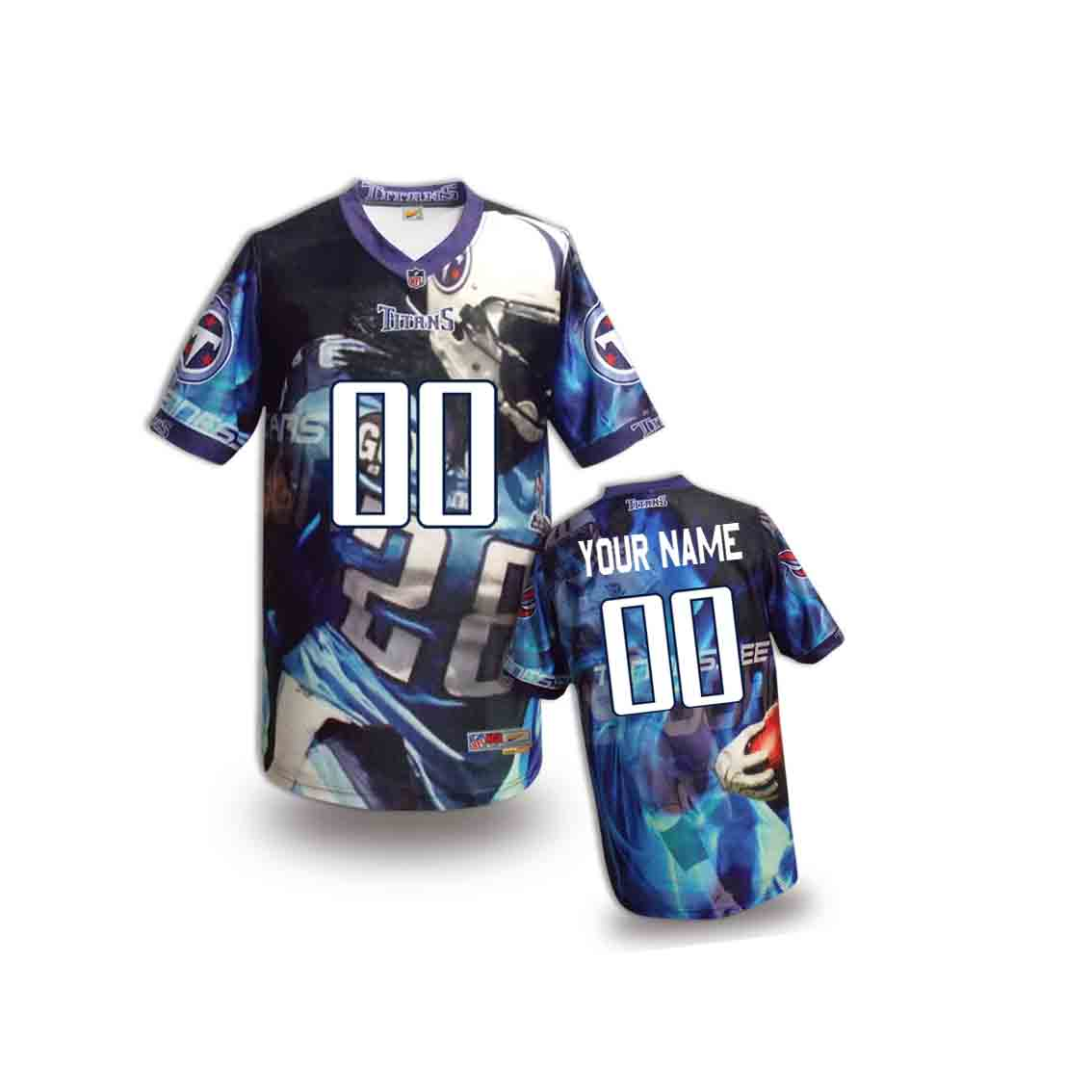 Nike Titans Customized Fashion Stitched Youth Jerseys06