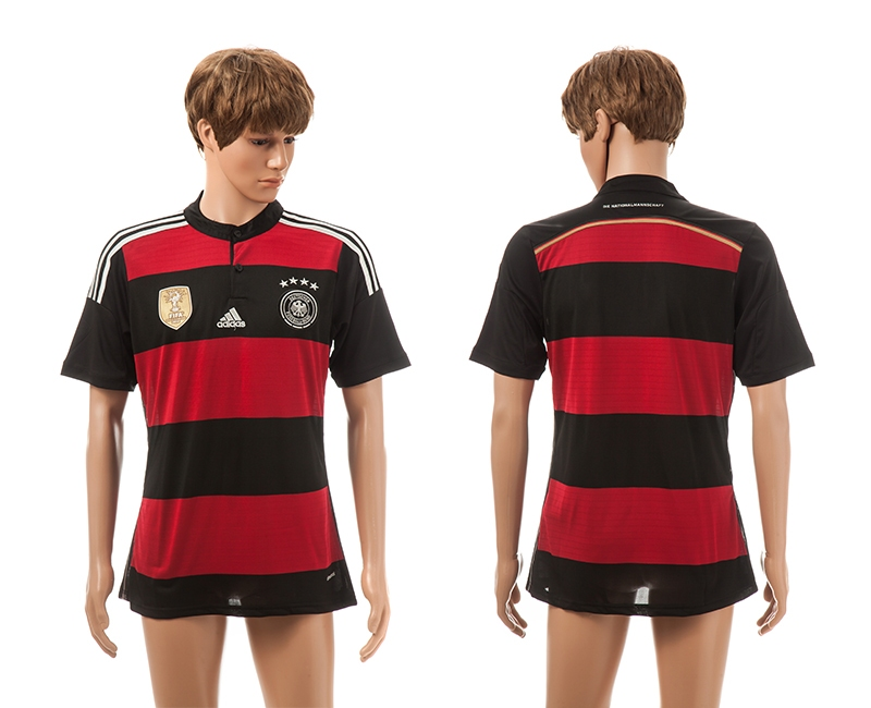 Germany 4-Star 2014 World Cup Champions Away Thailand Jerseys