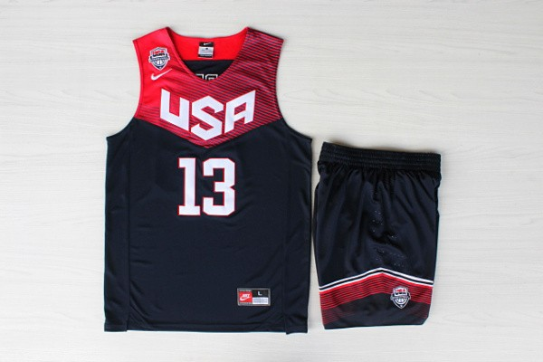 USA Basketball 2014 Dream Team 13 Harden Blue Suits