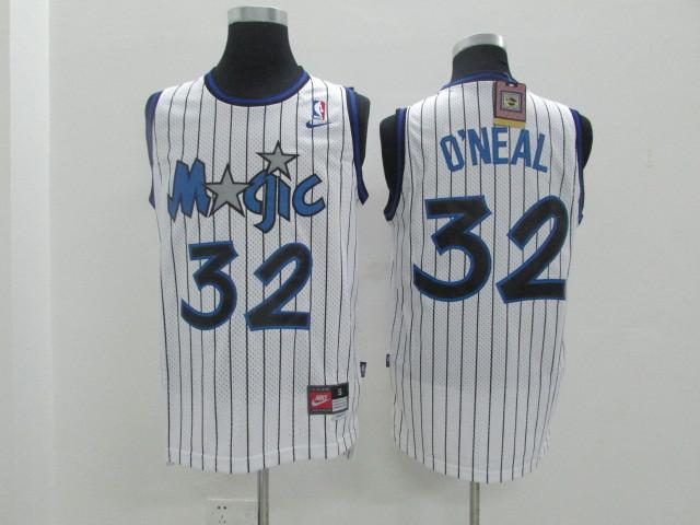 Magic 32 O'Neal White Revolution 30 Jerseys