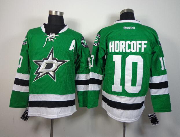 Stars 10 Horcoff Green Jerseys
