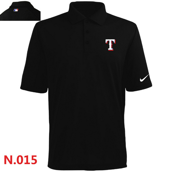 Nike Rangers Black Polo Shirt