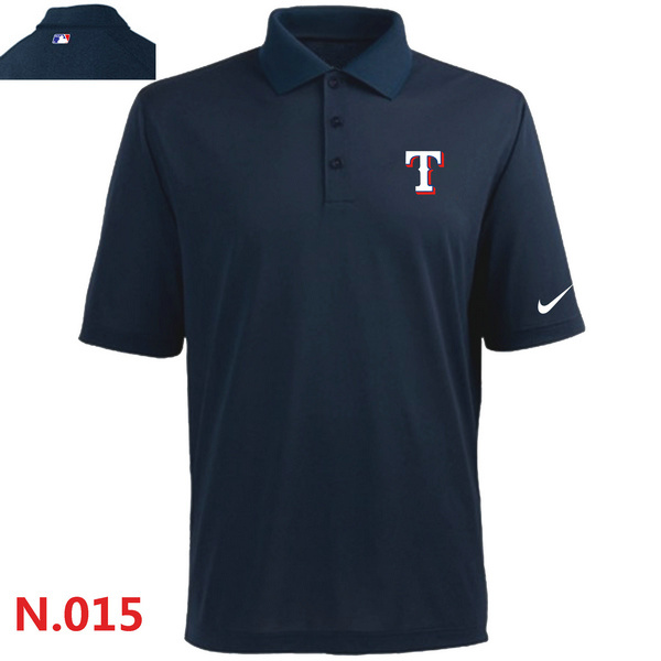 Nike Rangers Navy Blue Polo Shirt