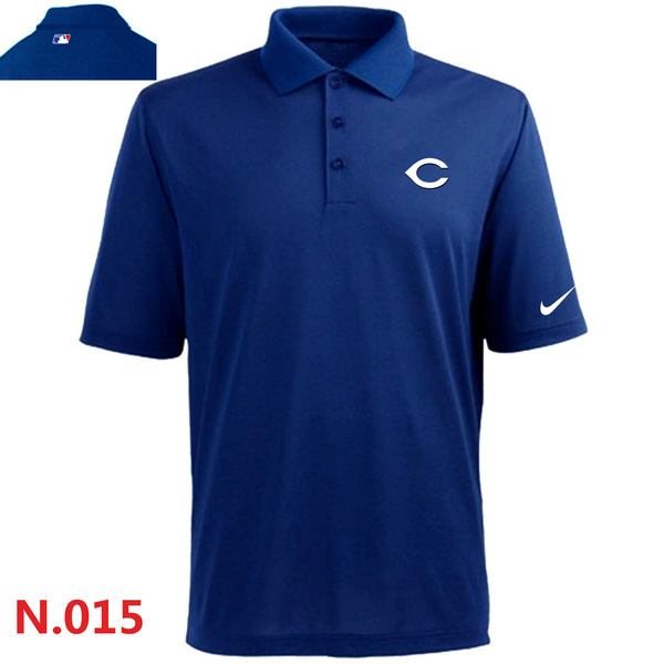 Nike Reds Blue Polo Shirt