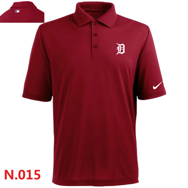 Nike Tigers Red Polo Shirt