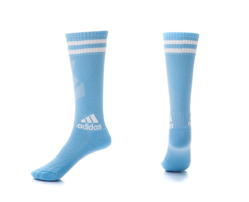 Adidas Light Blue Youth Soccer Socks