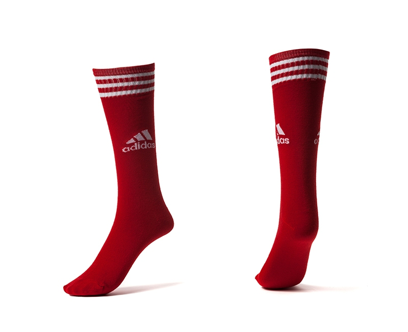 Adidas Red Youth Soccer Socks