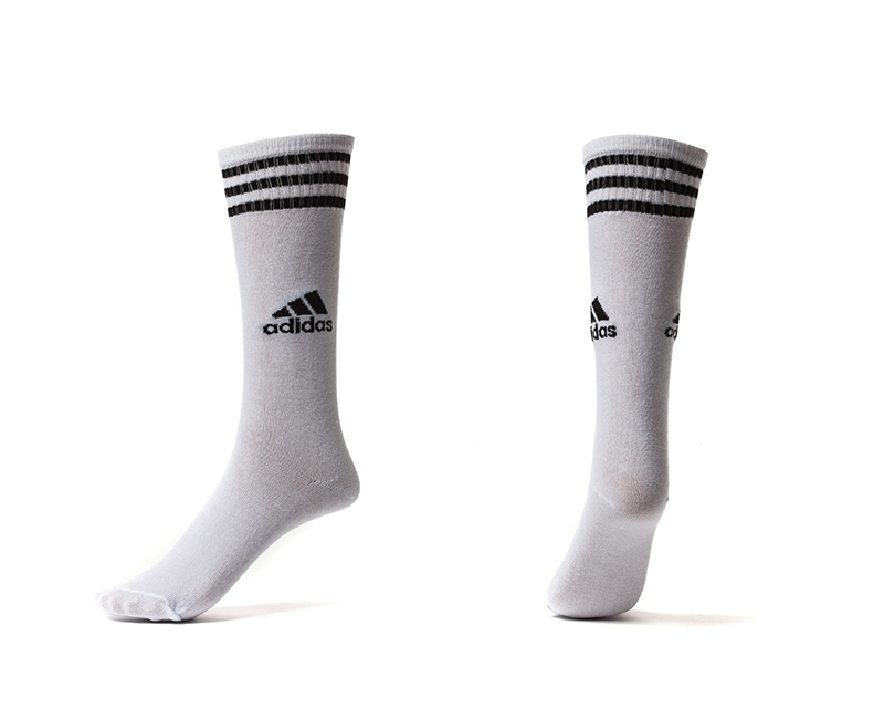 Adidas White Youth Soccer Socks