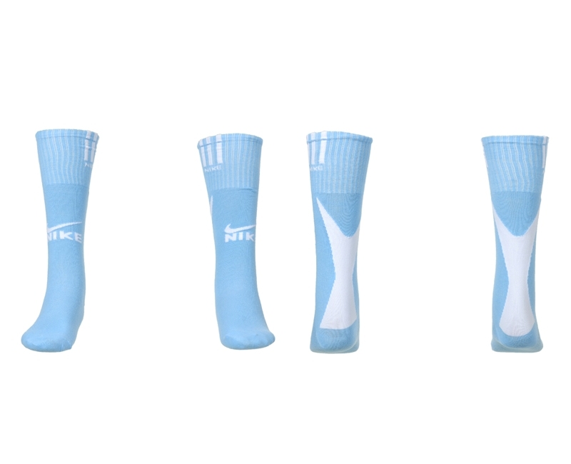 Nike Light Blue Youth Soccer Socks