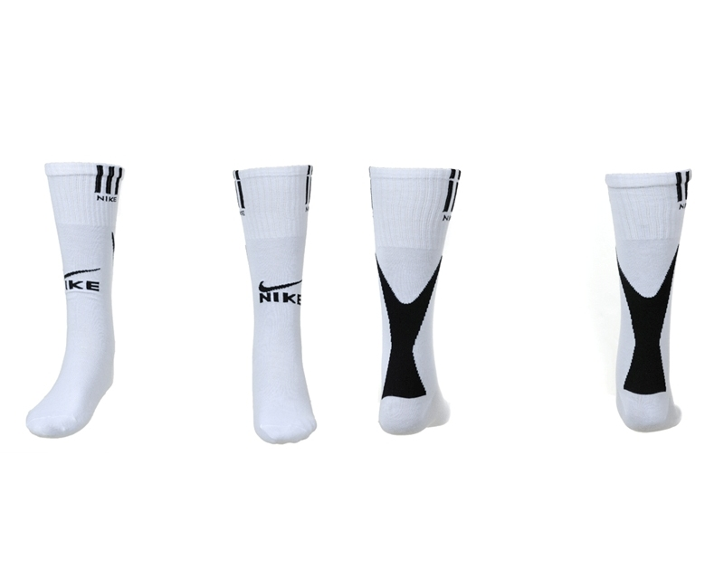 Nike White Youth Soccer Socks