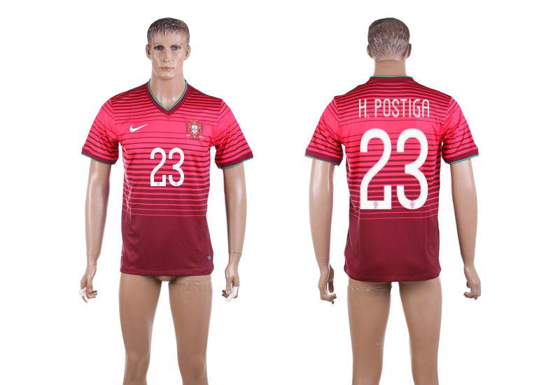 2015-16 Portugal 23 H.POSTIGA Home Thailand Jersey