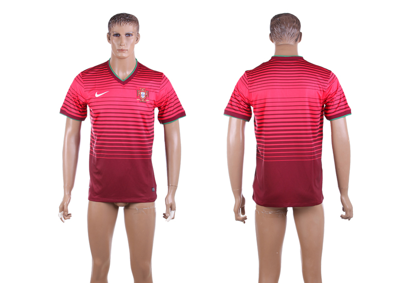 2015-16 Portugal Home Thailand Jersey