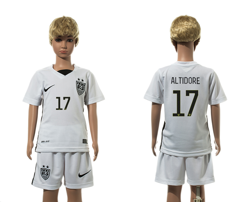 2015-16 USA 17 ALTIDORE Home Youth Jersey