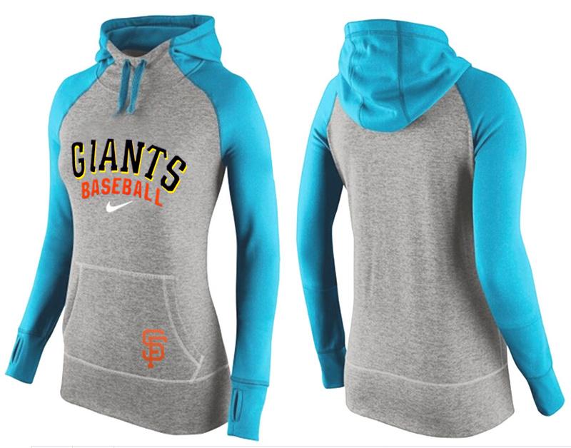 Giants Grey Pullover Women Hoodie2