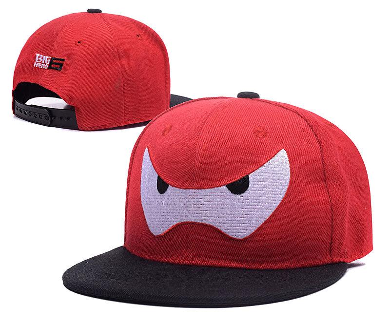 Big Hero Red Adjustable Kid Cap LH