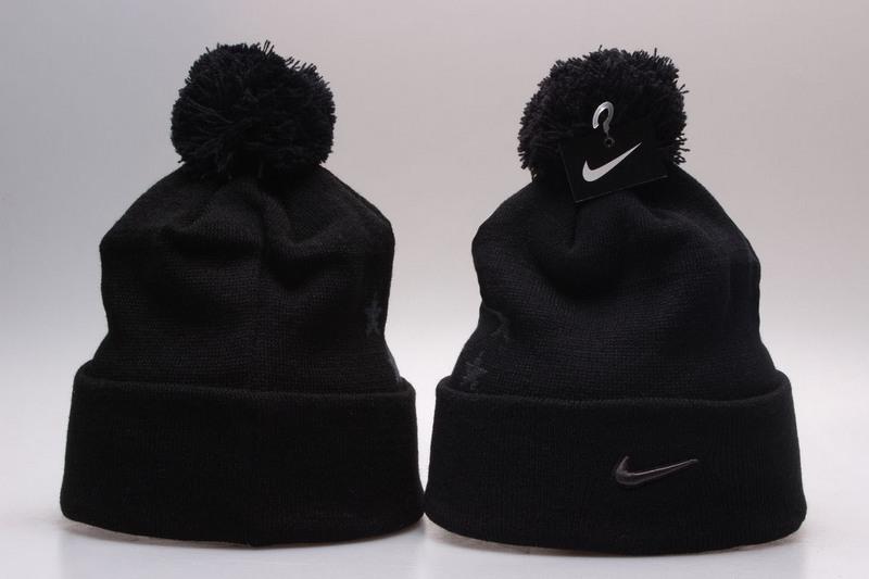Nike Black Knit Hat YP