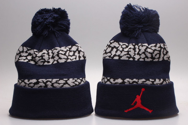 Air Jordan Blue Knit Hat YP
