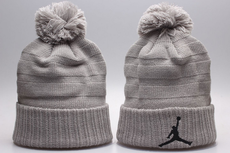 Air Jordan Grey Knit Hat YP