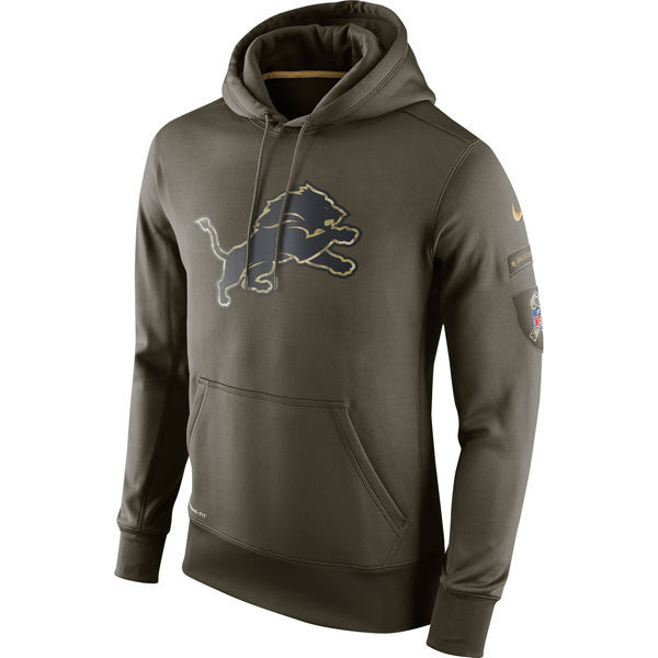 Nike Lions Green Salute To Service Hoodie