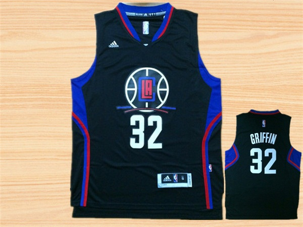 Clippers 32 Blake Griffin Black Swingman Jersey
