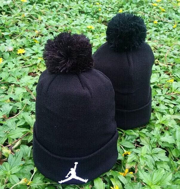 Jordan Black Fashion Knit Hat GF