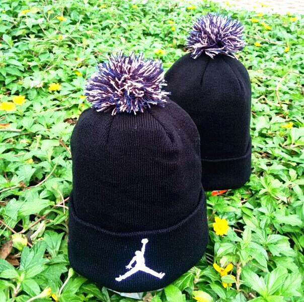 Jordan Black Fashion Knit Hat GF2