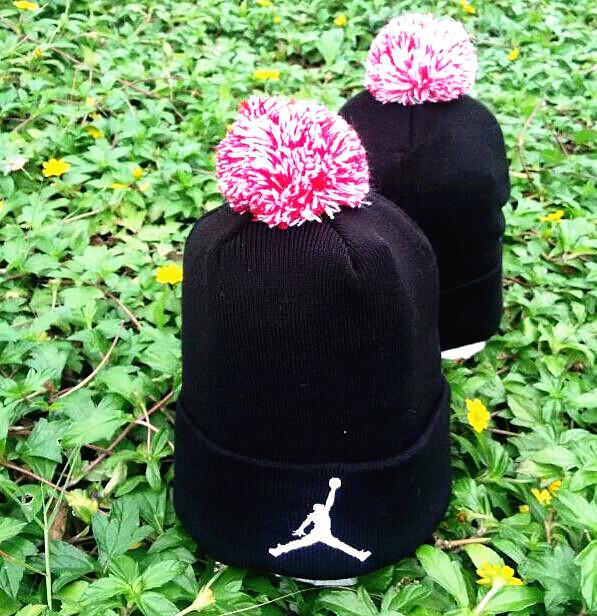 Jordan Black Fashion Knit Hat GF3