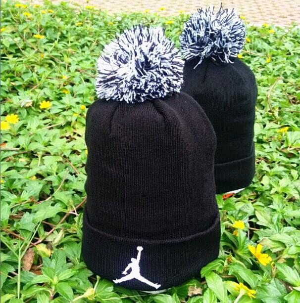 Jordan Black Fashion Knit Hat GF4