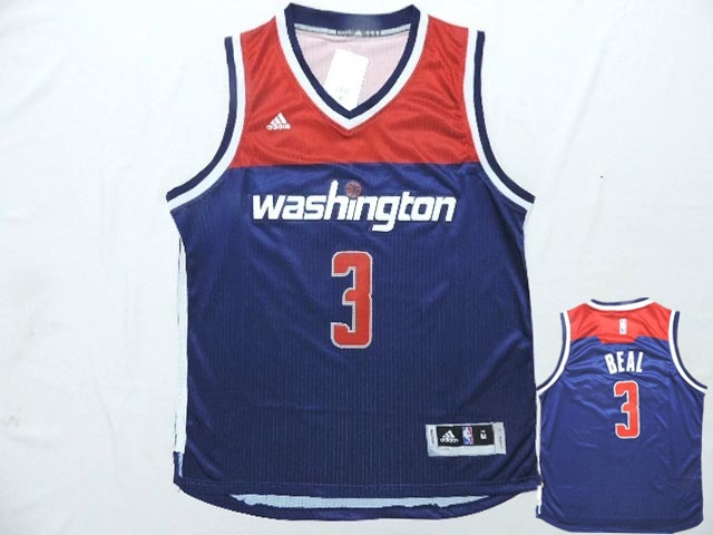 Wizards 3 Blue Red New Revolution 30 Jerseys