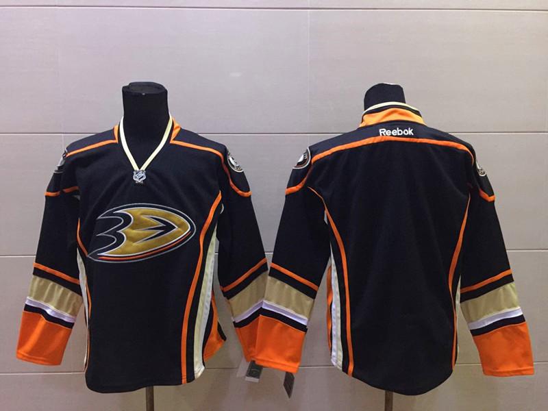 Ducks Black Reebok Jersey