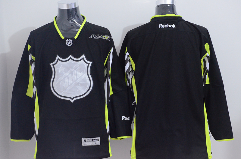 NHL Blank Black 2015 All Star Jersey