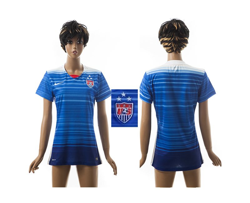 2015-16 USA Away Women Jersey