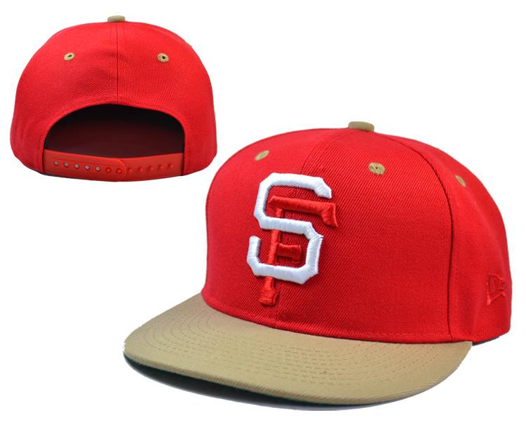 Giants Red Adjustable Cap LH